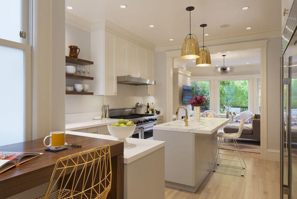 Tủ bếp đẹp hình chữ L 22
