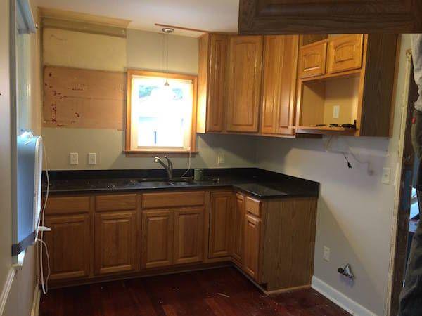 Tủ bếp đẹp hình chữ L 25