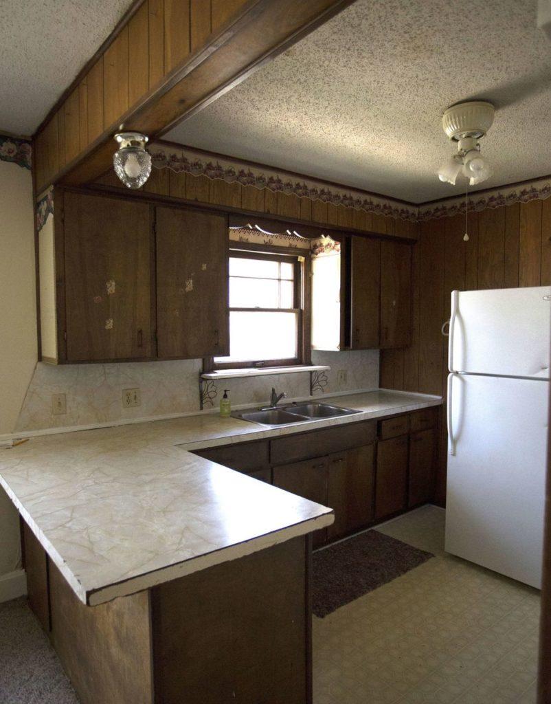 Tủ bếp đẹp hình chữ L 26