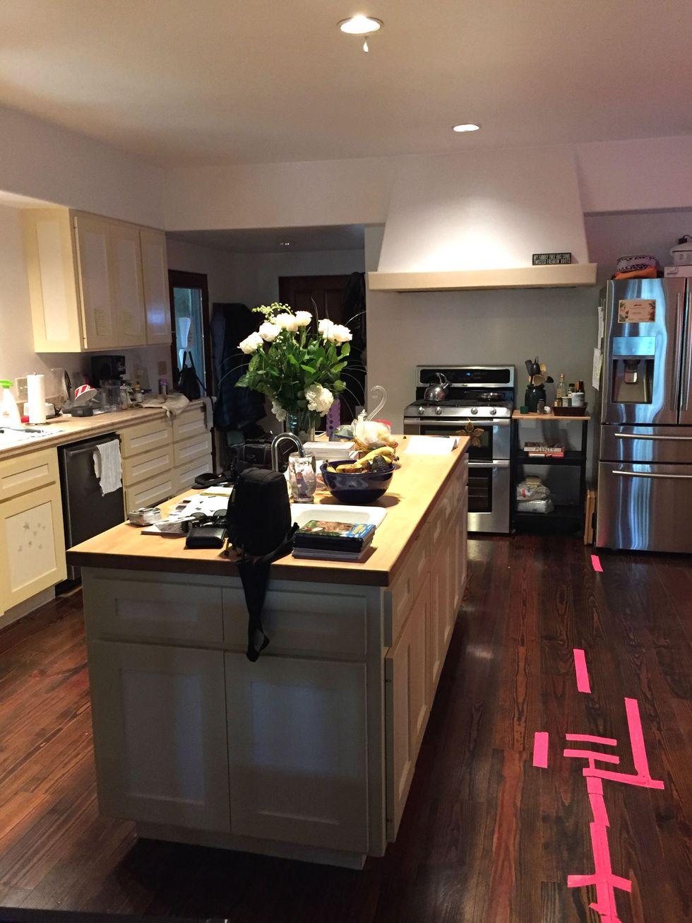 Tủ bếp đẹp hình chữ L 28