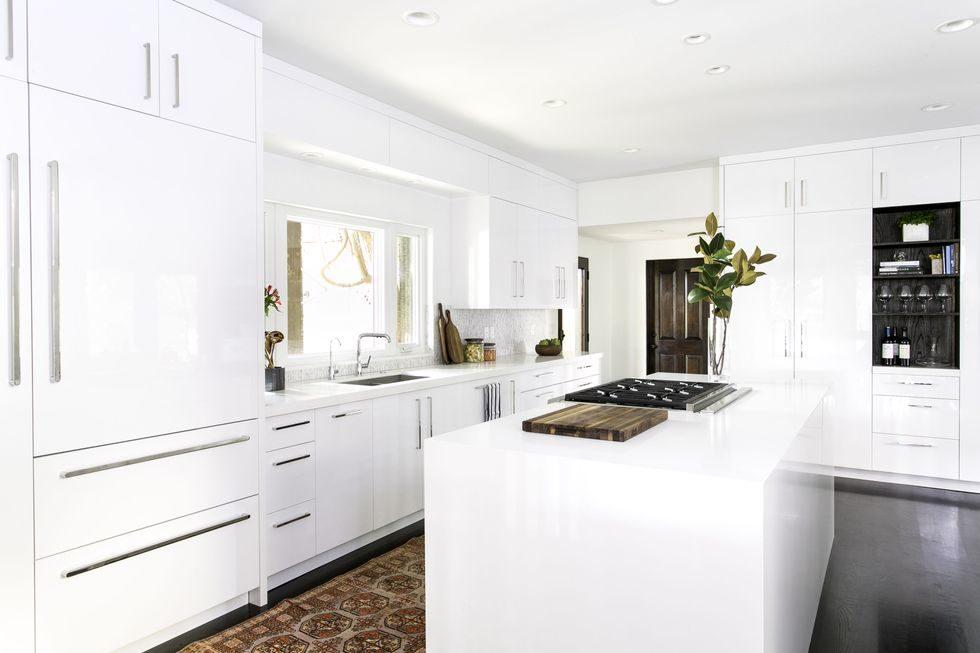 Tủ bếp đẹp hình chữ L 29