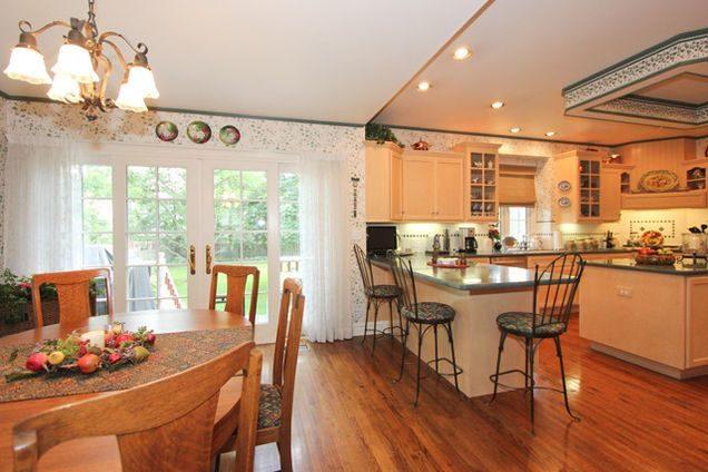 Tủ bếp đẹp hình chữ L 30