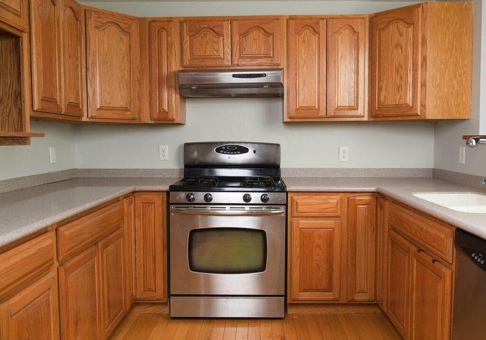 Tủ bếp đẹp hình chữ L 34