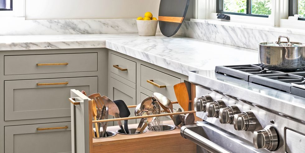 Tủ bếp đẹp hình chữ L 6