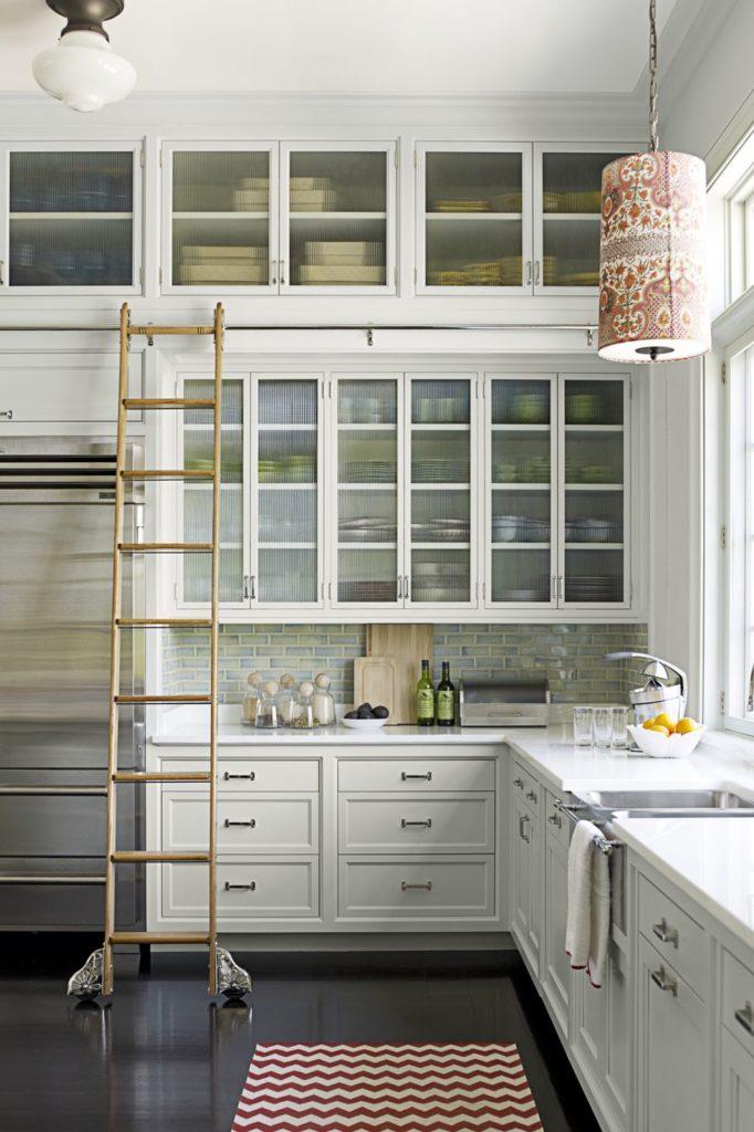 Tủ bếp đẹp hình chữ L 8