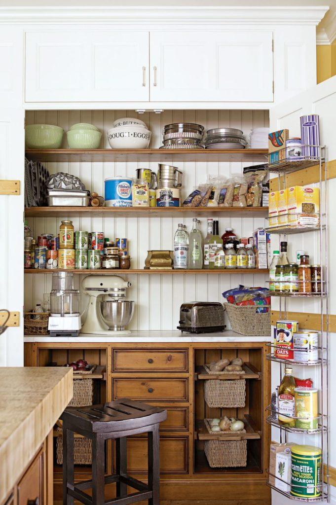 Tủ bếp đẹp hình chữ L 9