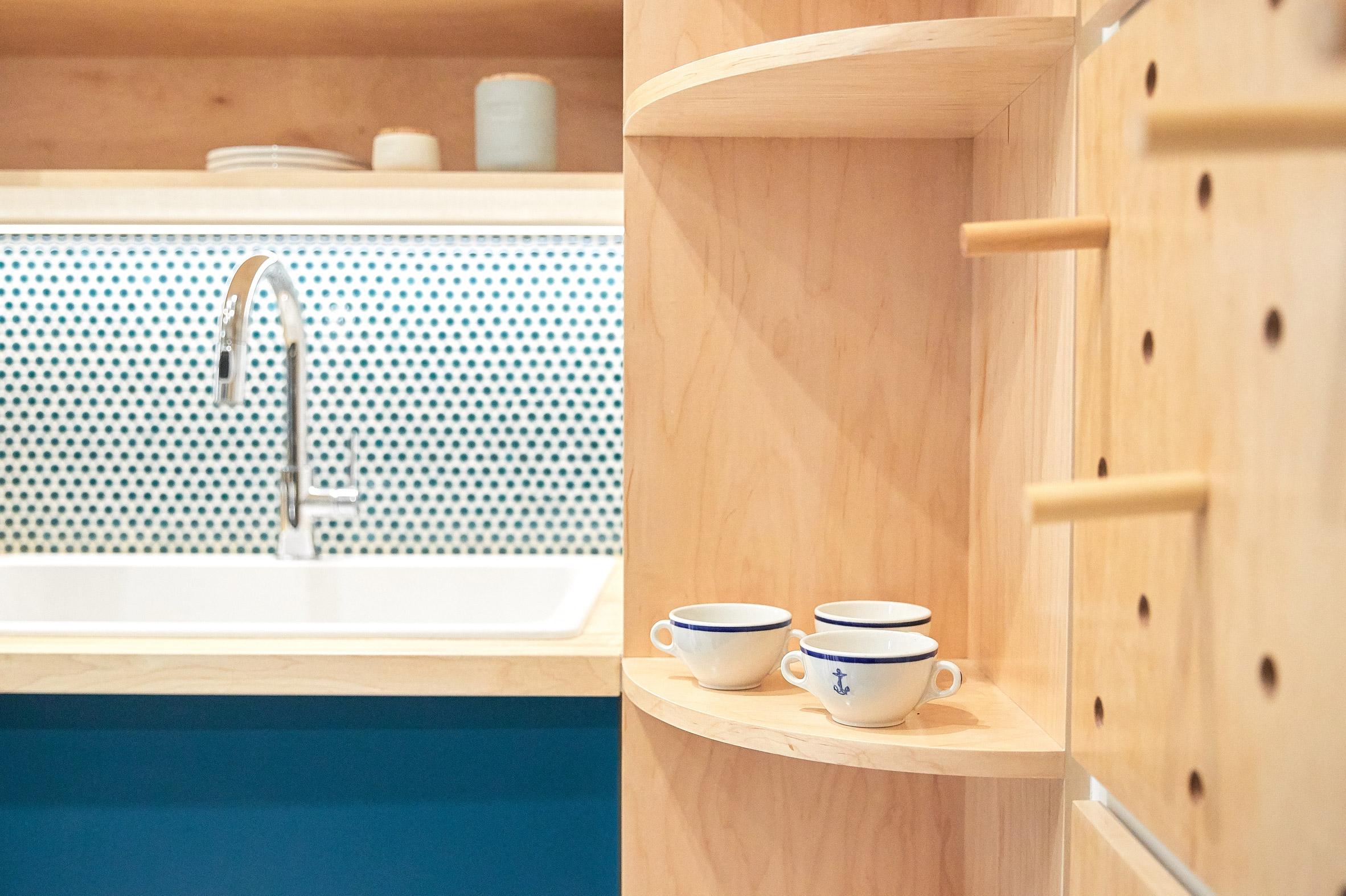 Tủ bếp gỗ đẹp 2