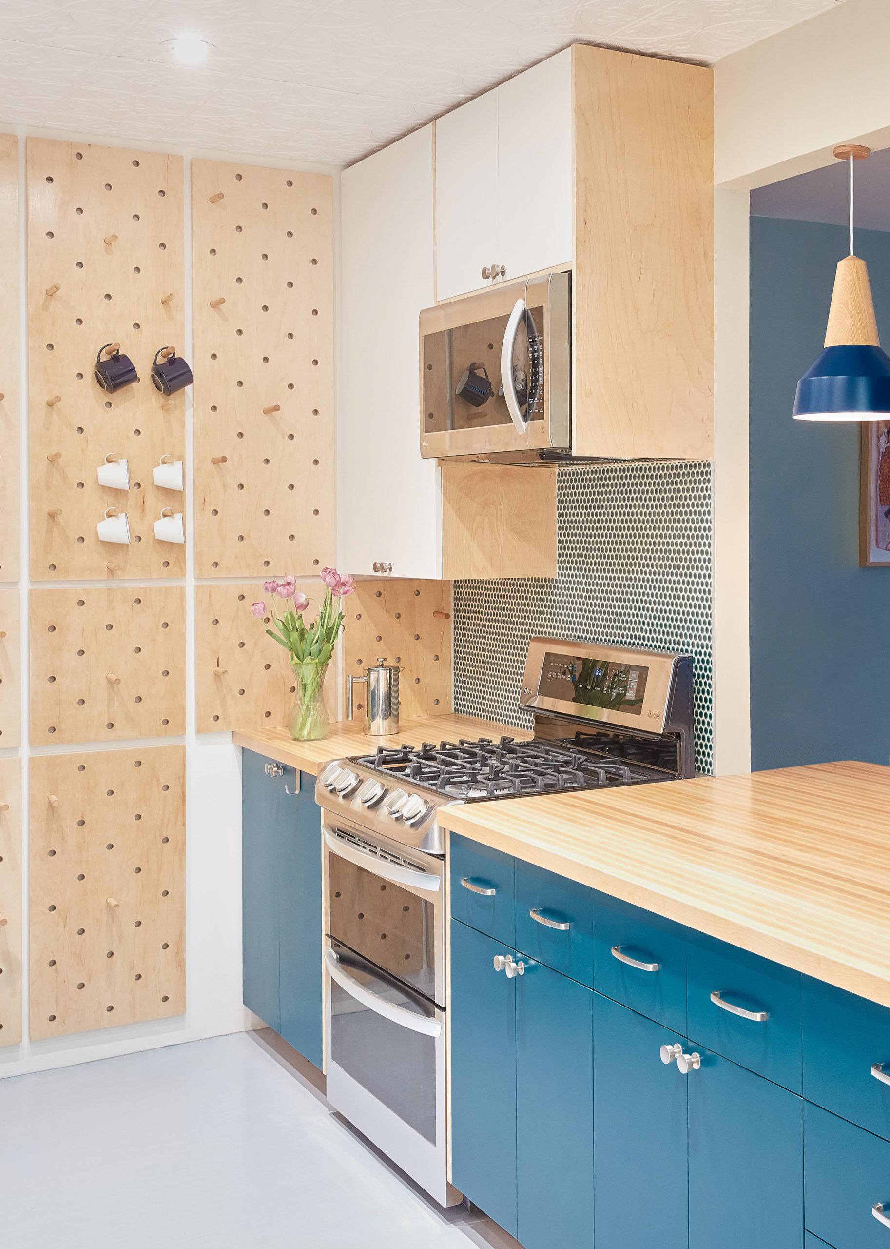 Tủ bếp gỗ đẹp 4