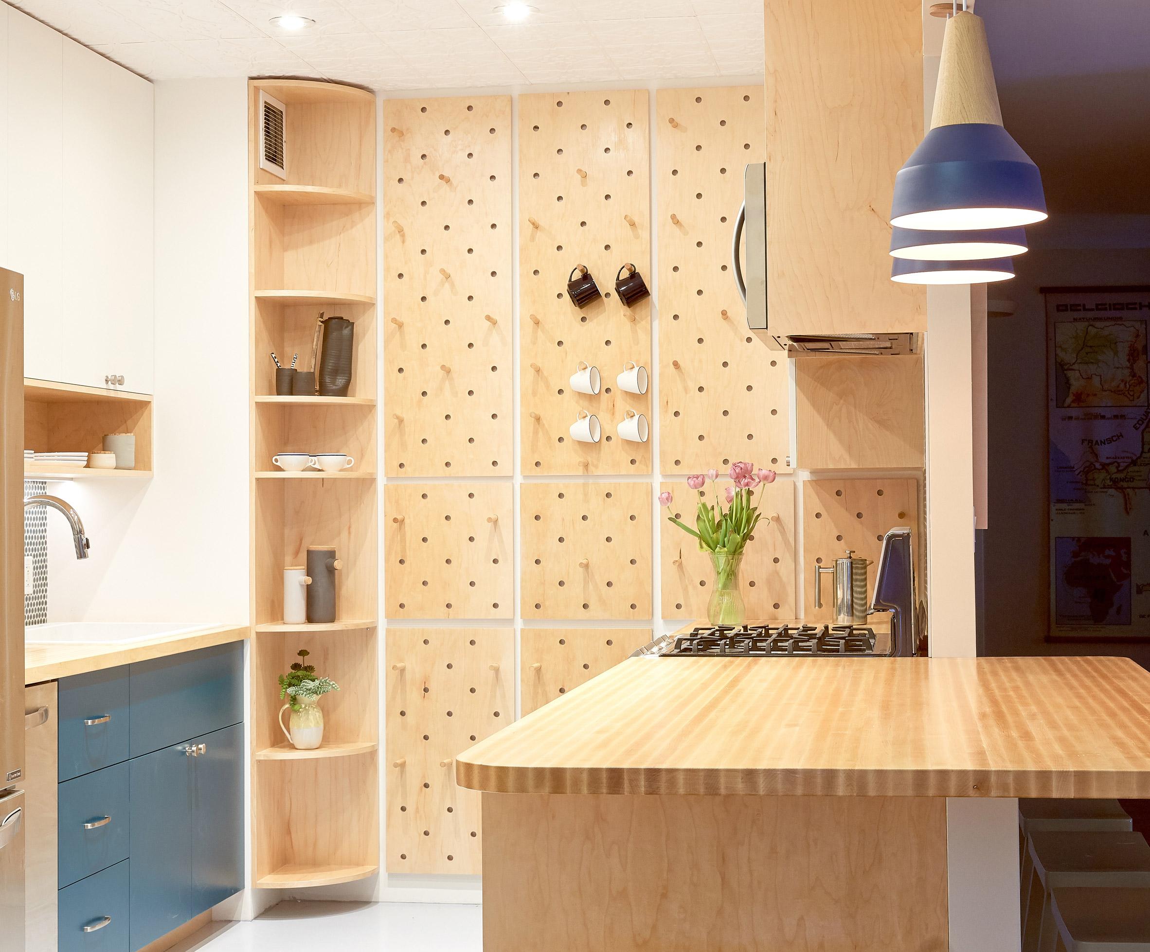 Tủ bếp gỗ đẹp 5
