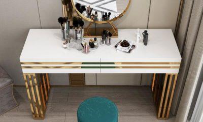 Bàn trang điểm kết hợp bàn làm việc