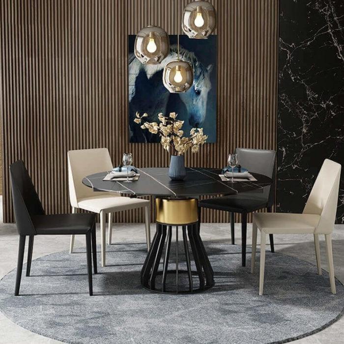 Bộ bàn ăn đẹp cao cấp 7