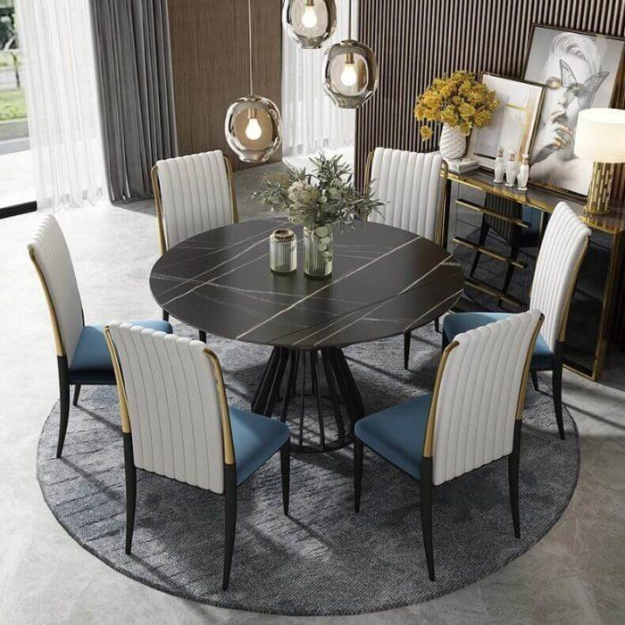 Bộ bàn ăn đẹp cao cấp 8