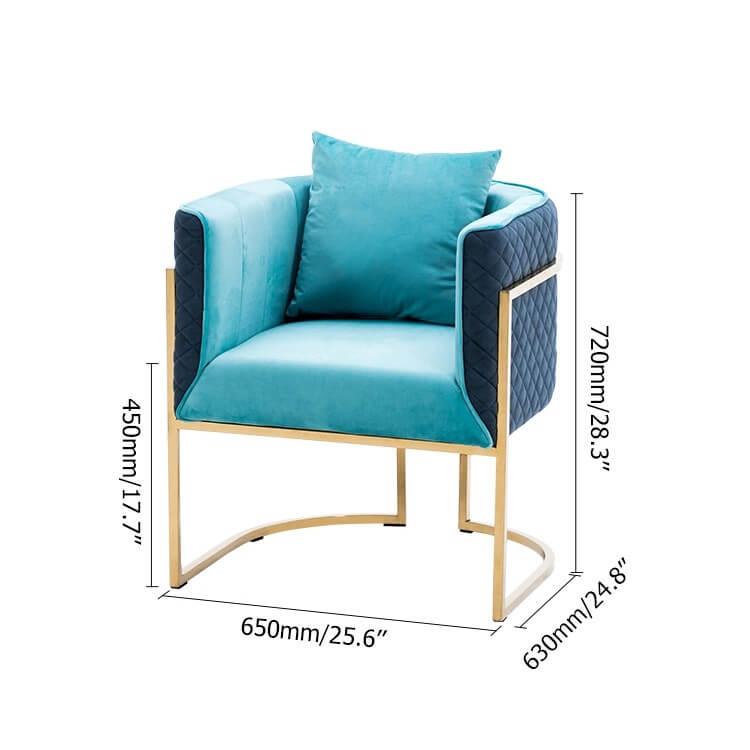 Ghế Sofa Đơn Tròn Cao Cấp 8