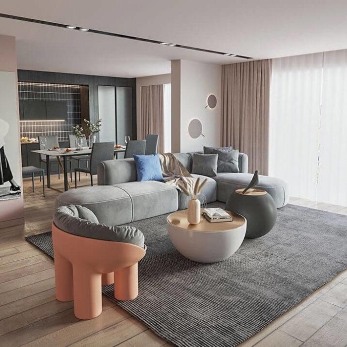 Ghế Sofa Phòng Khách Tiện Nghi 4