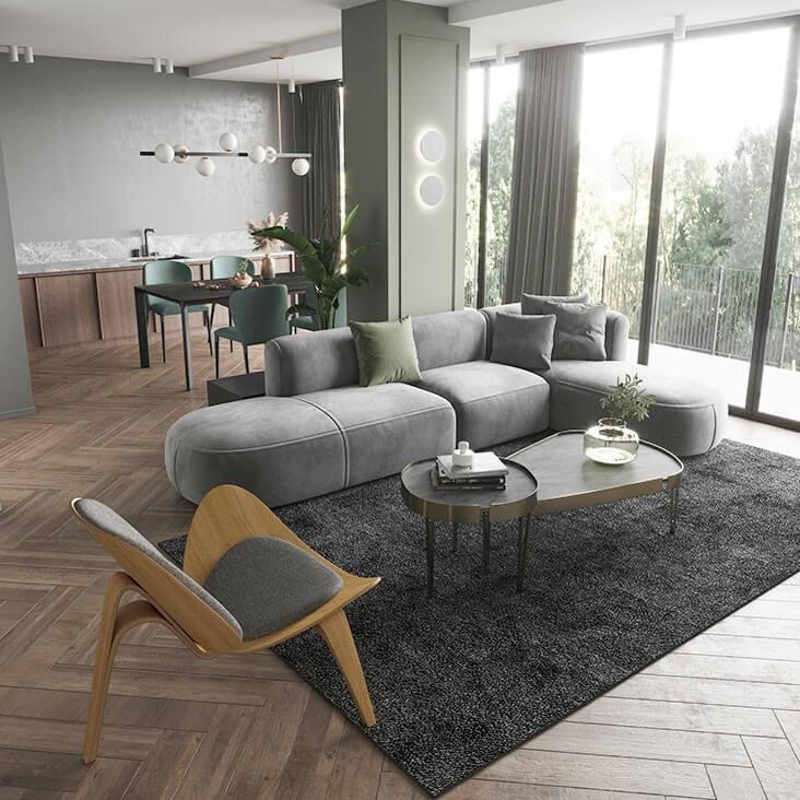Ghế Sofa Phòng Khách Tiện Nghi 5