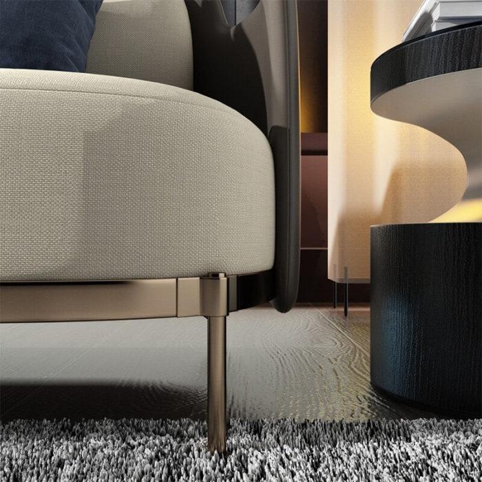 Ghế sofa căn hộ 5