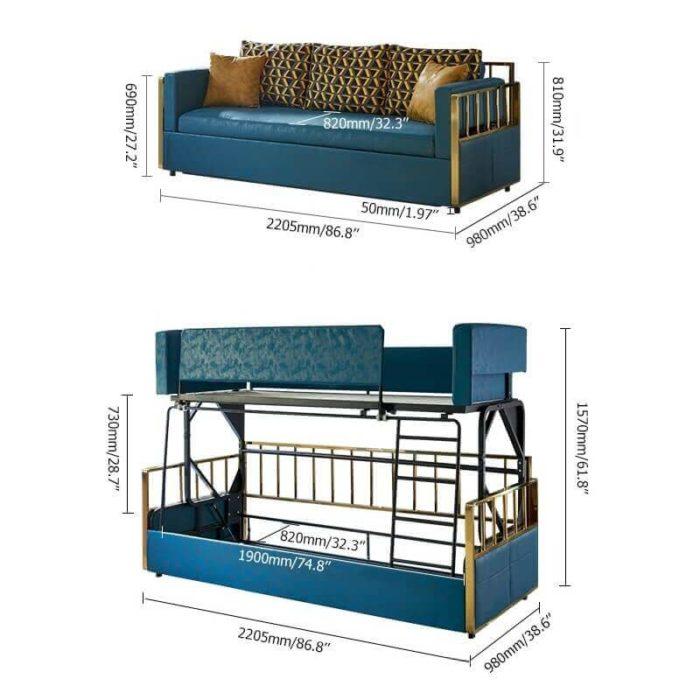 Ghế sofa giường tầng 3
