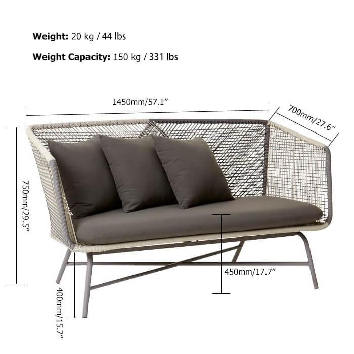 Ghế sofa ngoài trời 3