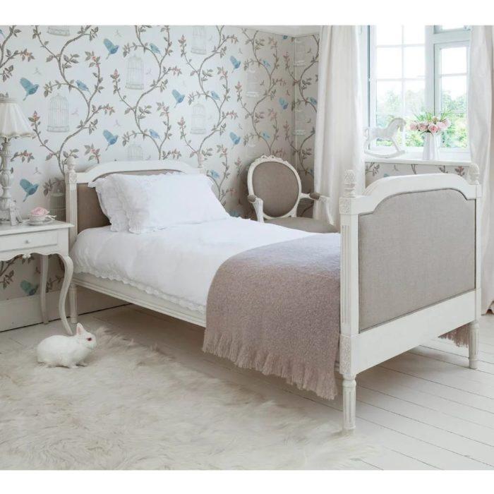 Giường Ngủ Đơn Kiểu Pháp