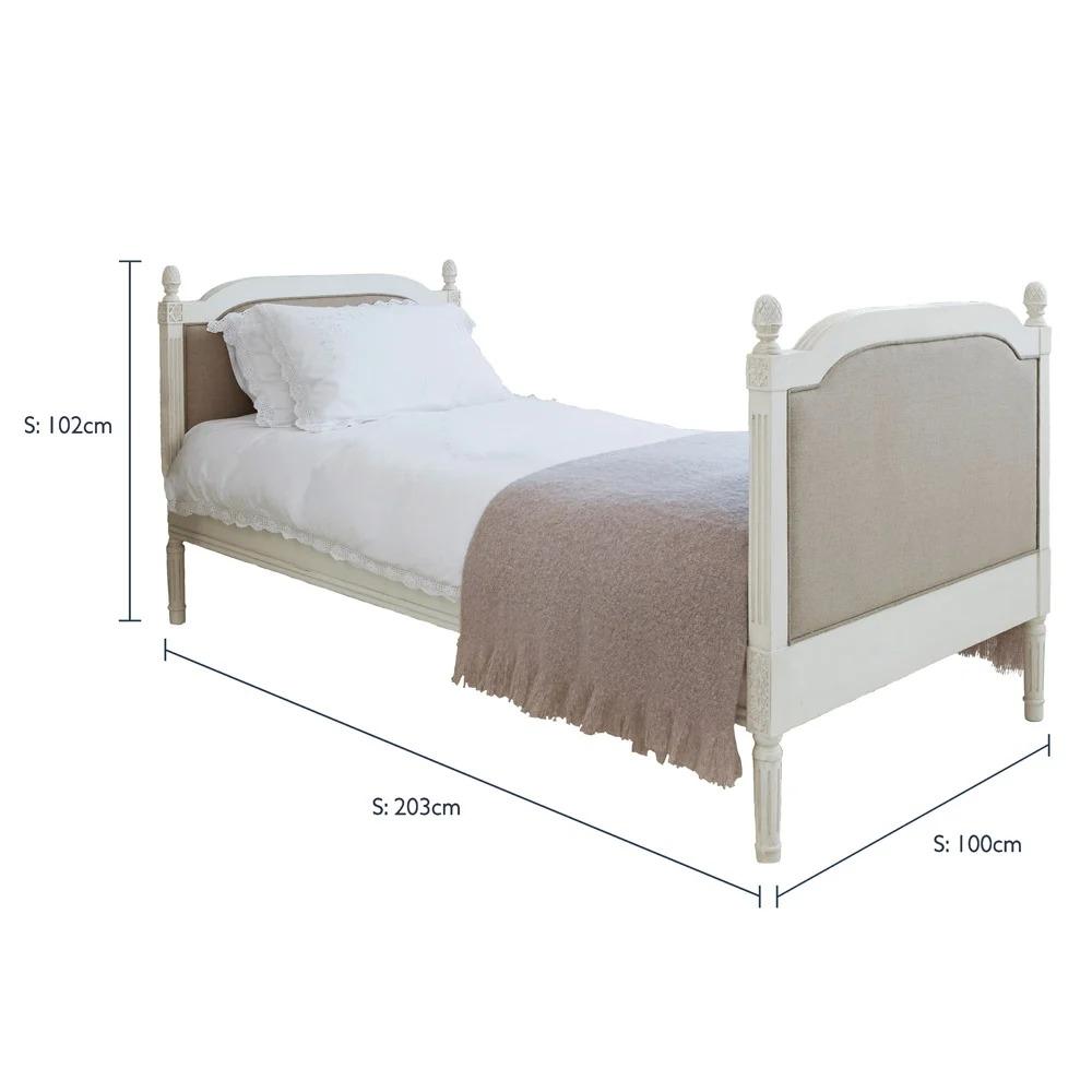Giường Ngủ Đơn Kiểu Pháp 3
