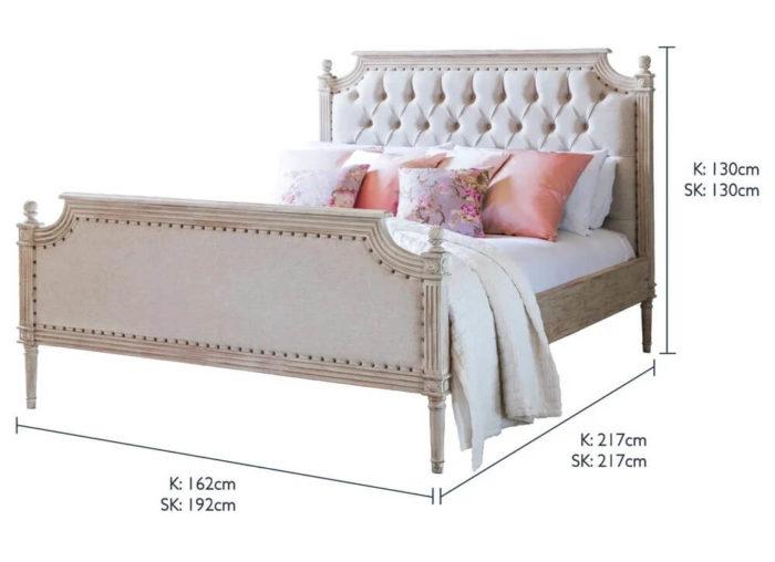 Giường Ngủ Cao Cấp Cổ Điển 2