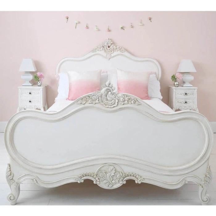 Giường ngủ tân cổ điển sang trọng