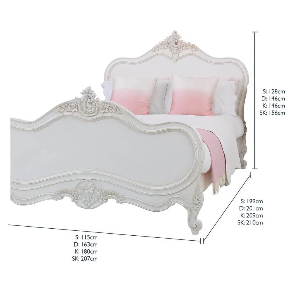 Giường ngủ tân cổ điển sang trọng 1