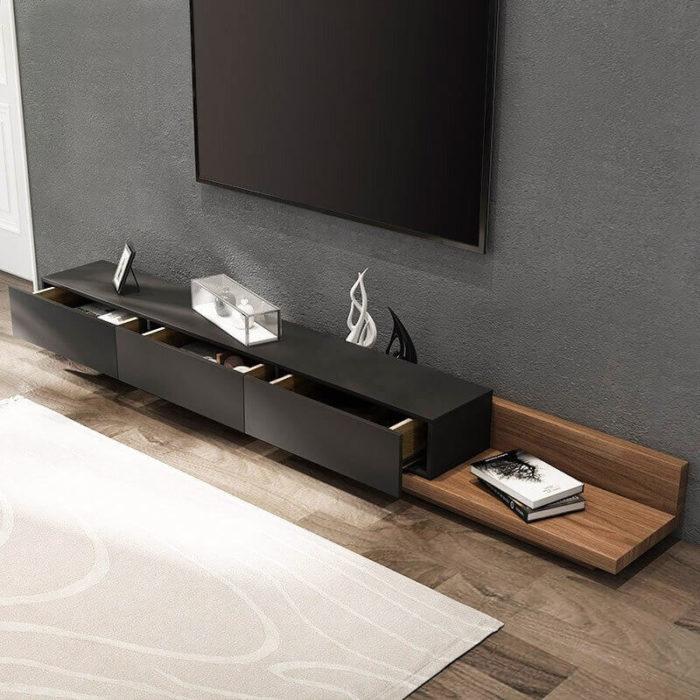 Kệ để tivi bằng gỗ 2