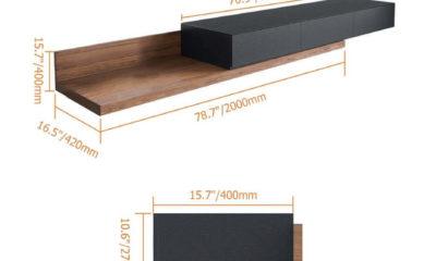 Kệ để tivi bằng gỗ 5