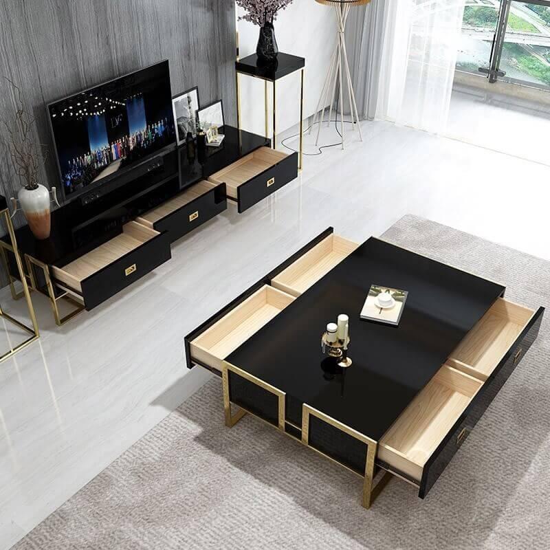 Kệ tivi phòng khách hiện đại