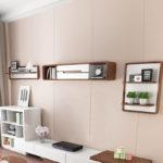 Kệ treo tường phòng khách 1