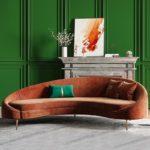 Sofa cao cấp bọc nhung