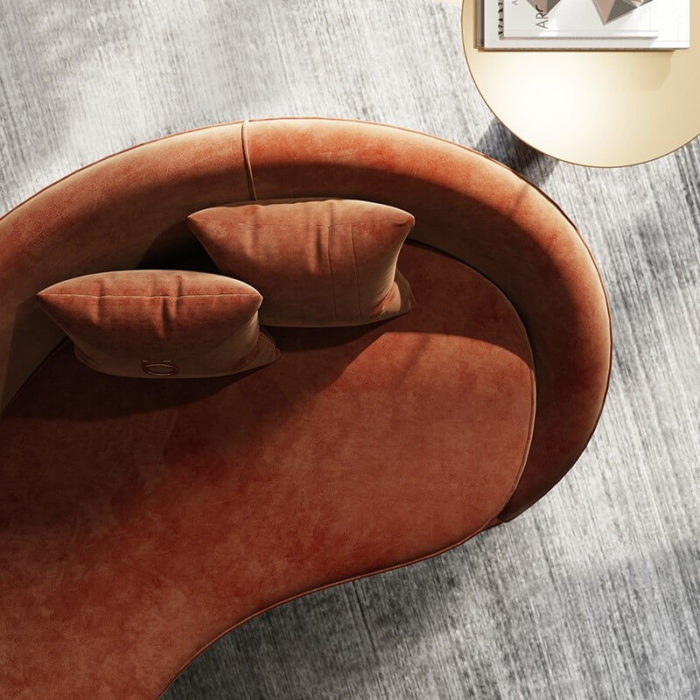 Sofa cao cấp bọc nhung 3