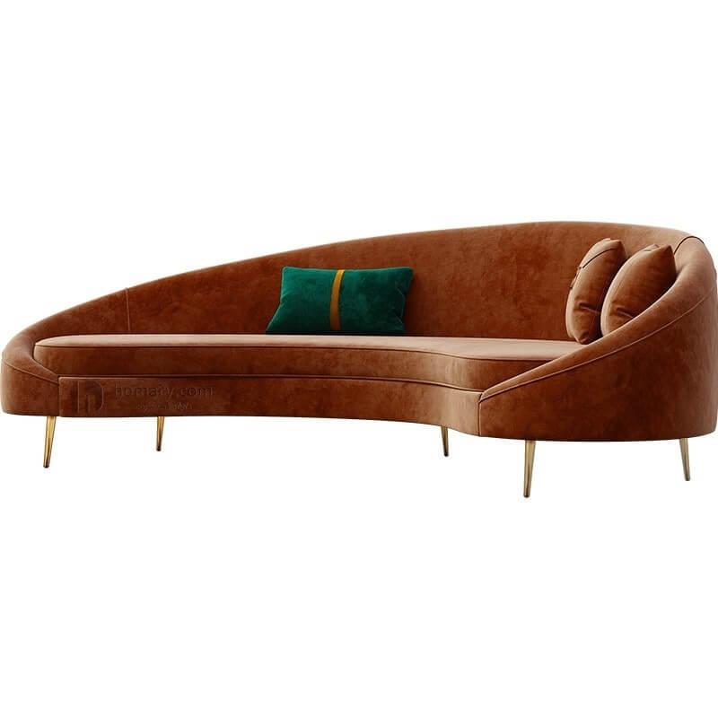 Sofa cao cấp bọc nhung 4