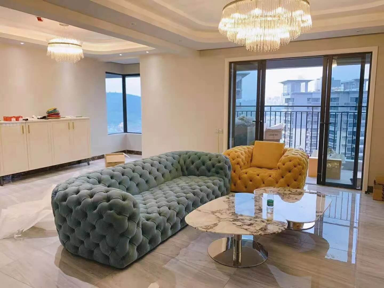 Sofa phòng khách hiện đại 8