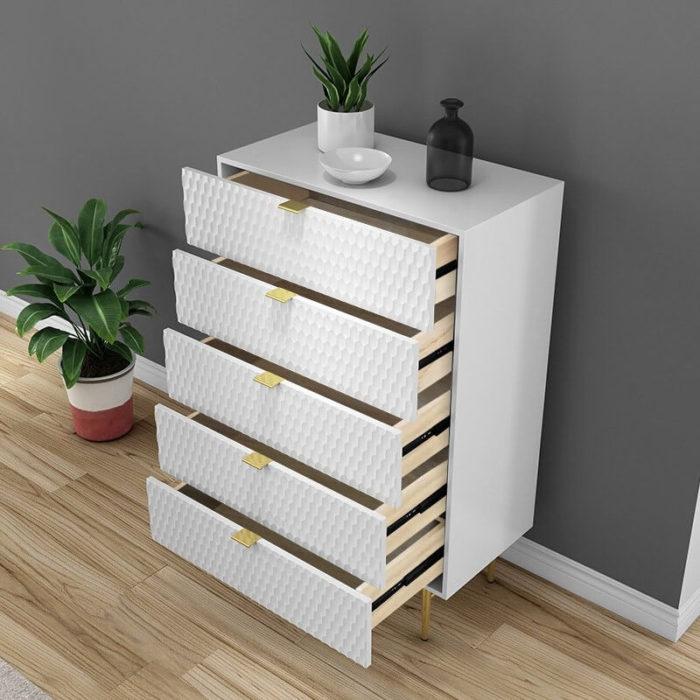 Tủ gỗ trưng bày phòng khách 5