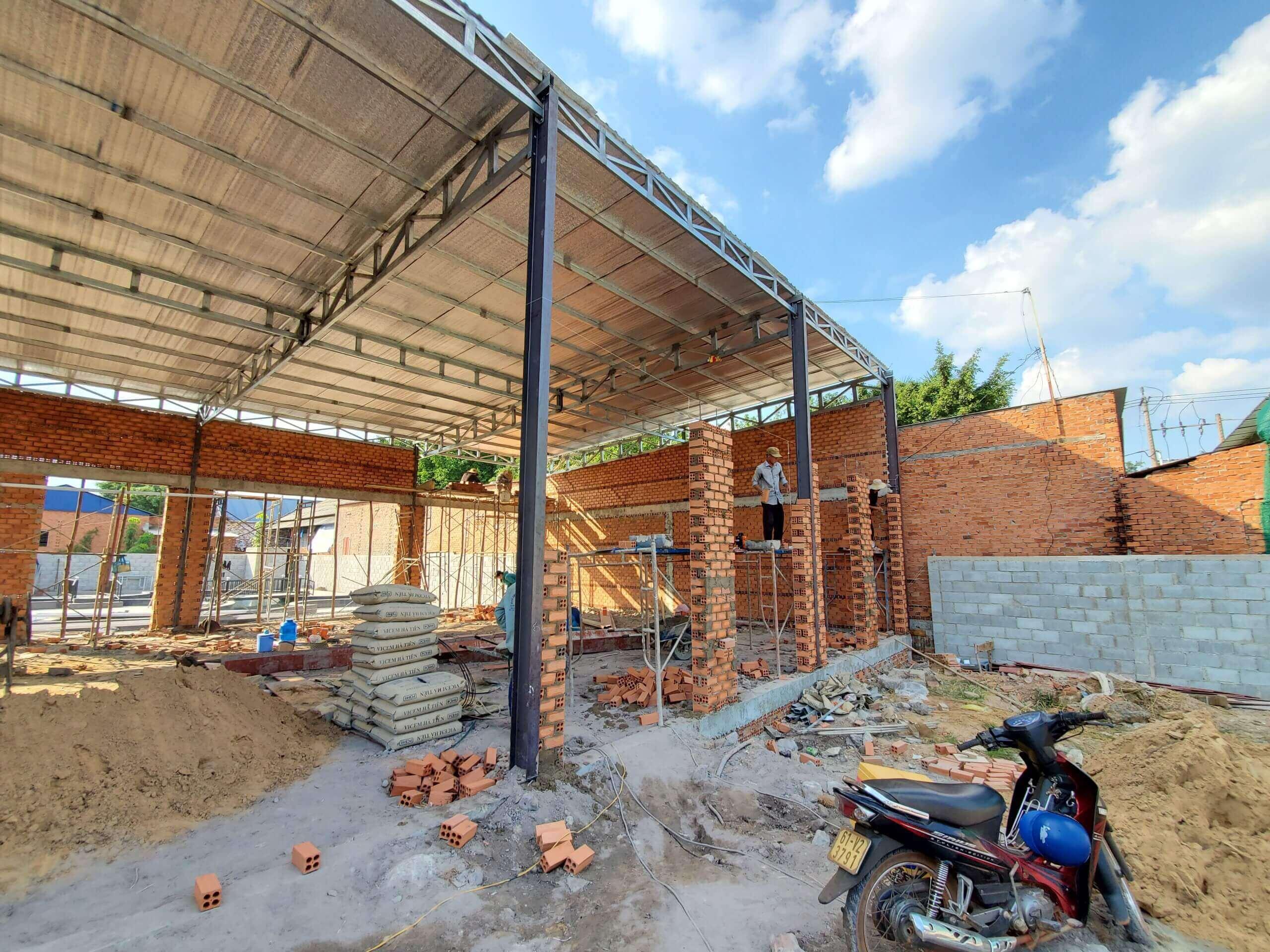 Xây dựng quán coffe 2