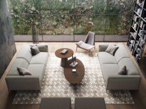 Nội thất phòng khách đẹp hiện đại 16