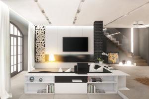 Nội thất phòng khách đẹp hiện đại 24