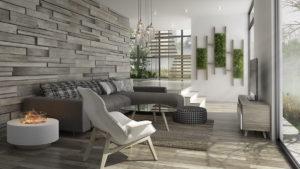 Nội thất phòng khách đẹp hiện đại 3