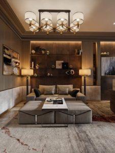 Nội thất phòng khách đẹp hiện đại 30