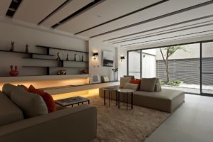 Nội thất phòng khách đẹp hiện đại 37