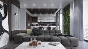 Nội thất phòng khách đẹp hiện đại 44