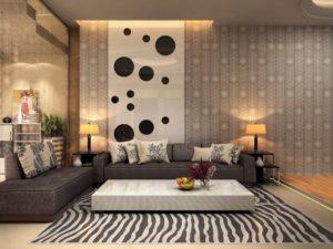 Nội thất phòng khách đẹp hiện đại 46
