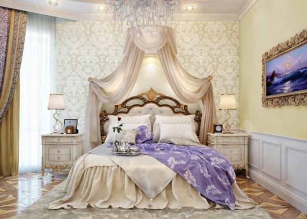 Phòng ngủ kiểu Pháp 1