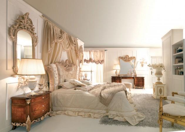 Phòng ngủ kiểu Pháp 11