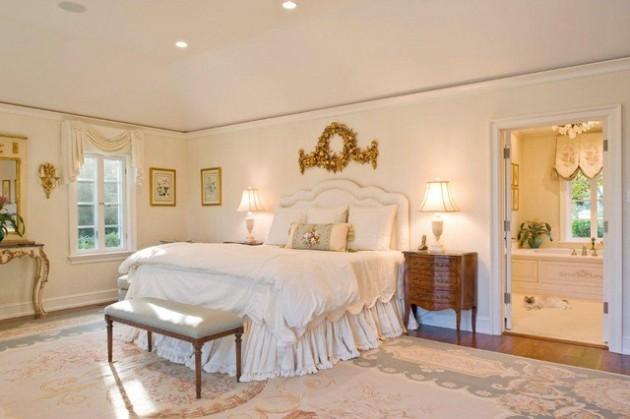 Phòng ngủ kiểu Pháp 12