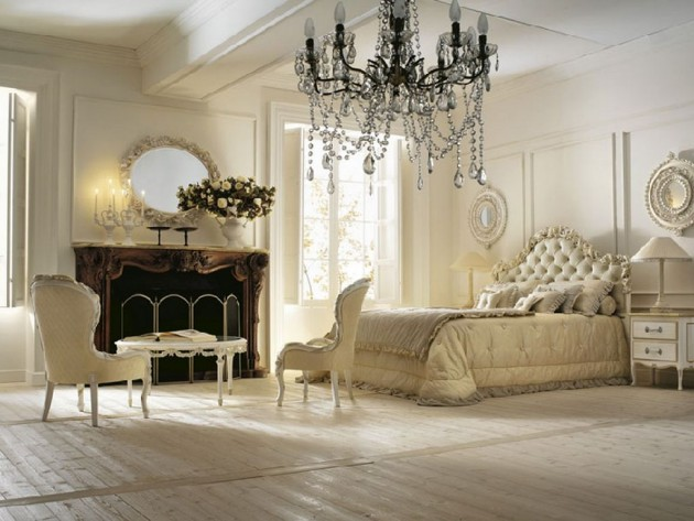 Phòng ngủ kiểu Pháp 15