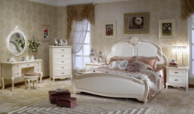 Phòng ngủ kiểu Pháp 2
