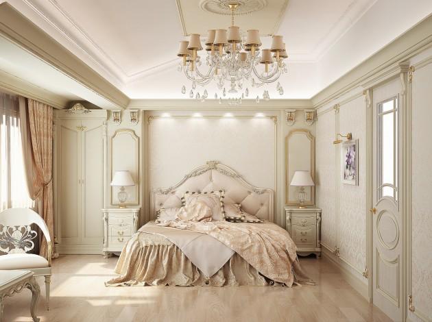 Phòng ngủ kiểu Pháp 6